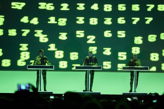 "Martin Dremljuga nuotr./""Kraftwerk"" šou"