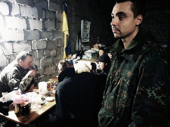 Dovydas Pancerovas nuotr./Tankistų bazė Peskuose.