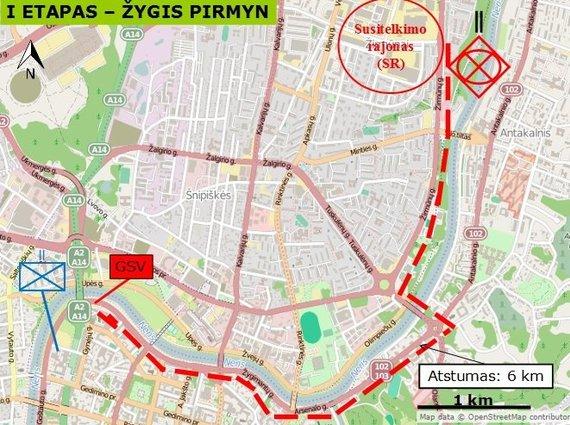 LKA nuotr./LKA kariūnų parengti Seimo rūmų gynybos planai.