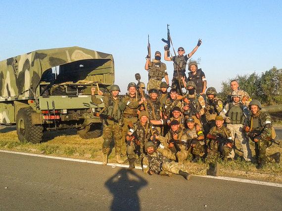 "D.Pancerovo nuotr./Ukrainos VRM specialiosios paskirties batalionas ""Tornado"""