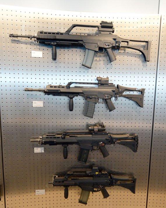"""AFP/""""Scanpix"""" nuotr./Automatinis šautuvas G-36"""