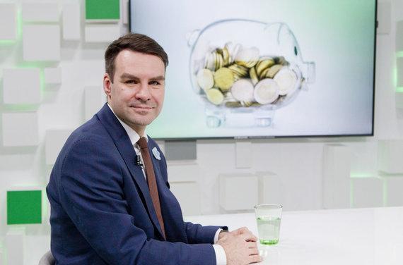 """Valdo Kopūsto / 15min nuotr./""""Sodros"""" Komunikacijos skyriaus vedėjas Saulius Jarmalis"""