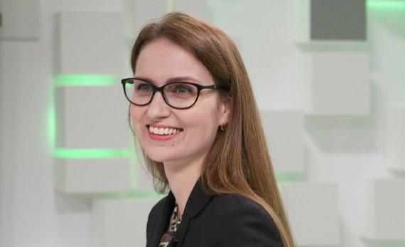 Valdo Kopūsto / 15min nuotr./Politologė Rima Urbonaitė