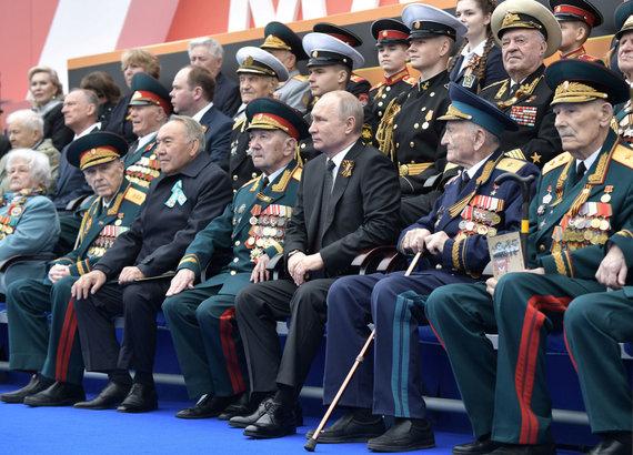 """""""Reuters""""/""""Scanpix"""" nuotr./Pergalės dienos minėjimas Maskvoje 2019 metais"""