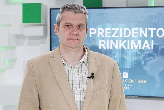 Valdo Kopūsto / 15min nuotr./VPAI tyrimų vadovas Gintaras Šumskas