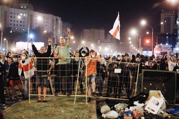 Photographers against nuotr./Baltarusijos fotografai dalinasi vaizdais iš protestų jų šalyje