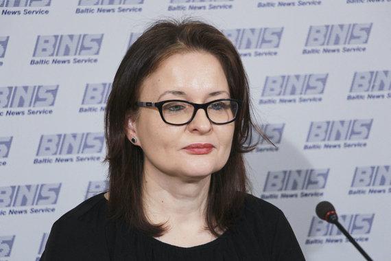 """Valdo Kopūsto / 15min nuotr./Jonė Kučinskaitė, Žurnalo """"Reitingai"""" žurnalistė"""