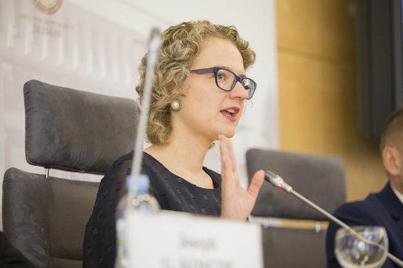 Mato Miežonio / 15min nuotr./Spaudos konferencija apie LGBT žmogaus teisių situaciją Lietuvoje