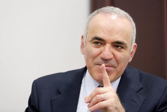 Valdo Kopūsto / 15min nuotr./Garis Kasparovas