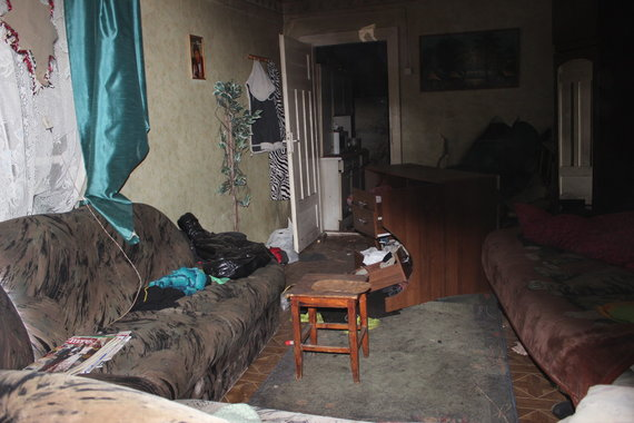 Vilijos Mockuvienės nuotr./Angirių kaimo nuosavame name sprogo katilas