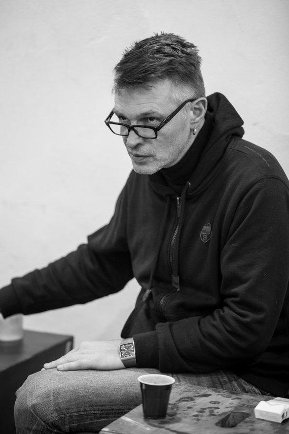 """Valstybinio jaunimo teatro nuotr./Valstybinis jaunimo teatras ruošiasi Gintaro Varno premjerai – """"Pabaigos ugnis"""""""