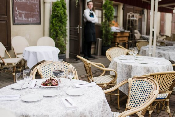 """G.G Photography – Gedimino Gražio nuotr./Jeremy Irons pamėgtas Vilniaus restoranas """"Saint Germain"""""""