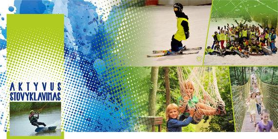 Aktyvusstovyklavimas.lt nuotr./Vasaros stovykla vaikams ir jaunimui Druskininkuose