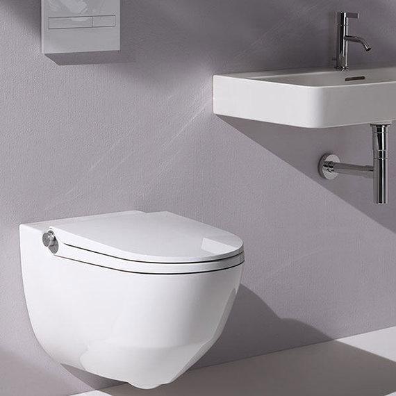 """""""Cleanet RIVA"""" (dizainas – Peterio Wirzo, gamintojas – """"Laufen"""")"""