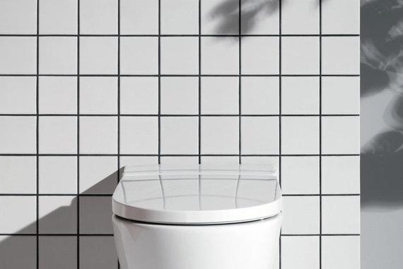 """""""Cleanet NAVIA"""" (dizainas – Peterio Wirzo, gamintojas – """"Laufen"""")"""