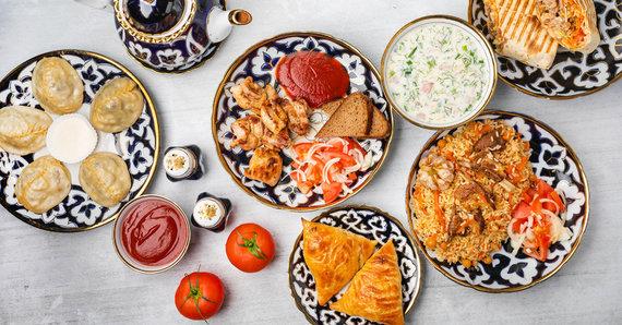 Partnerio nuotr./Uzbekiška virtuvė