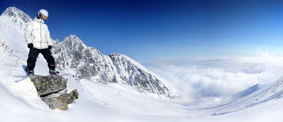 Partnerio nuotr./Trys geriausi Tatrų kurortai snieglenčių mėgėjams