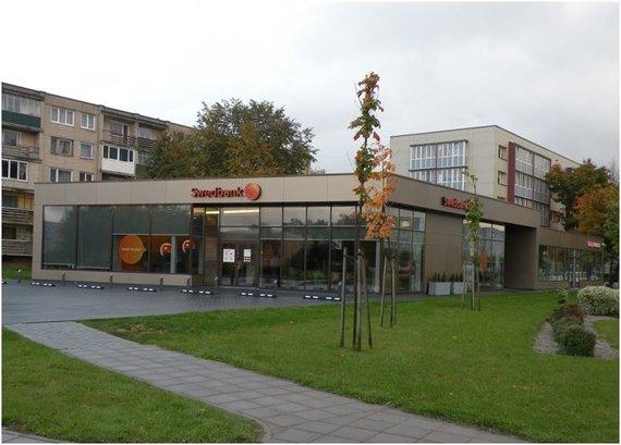 Partnerio nuotr./Studento suprojektuotas administracinis pastatas