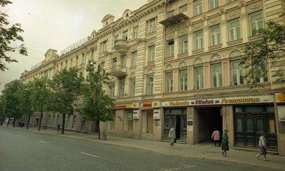 """Naujienų agentūros ELTA archyvo nuotr./""""Vilniaus"""" viešbutis"""