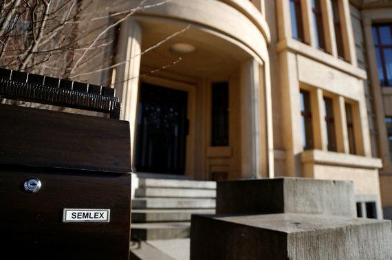 """""""Reuters""""/""""Scanpix"""" nuotr./Semlex centrinė būstinė Briuselyje"""