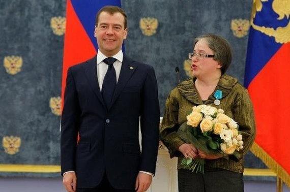 Nuotrauka iš VSD ataskaitos/Dmitrijus Medvedevas ir Ela Kanaitė