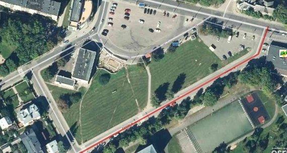 Google Maps nuotr./Sklypas Žaliojoje gatvėje