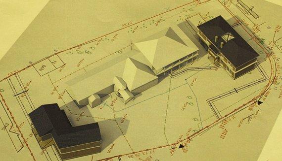 """Architektų įmonės """"Unitectus"""" projektas/Birutes 40, Projektiniai pasiūlymai"""