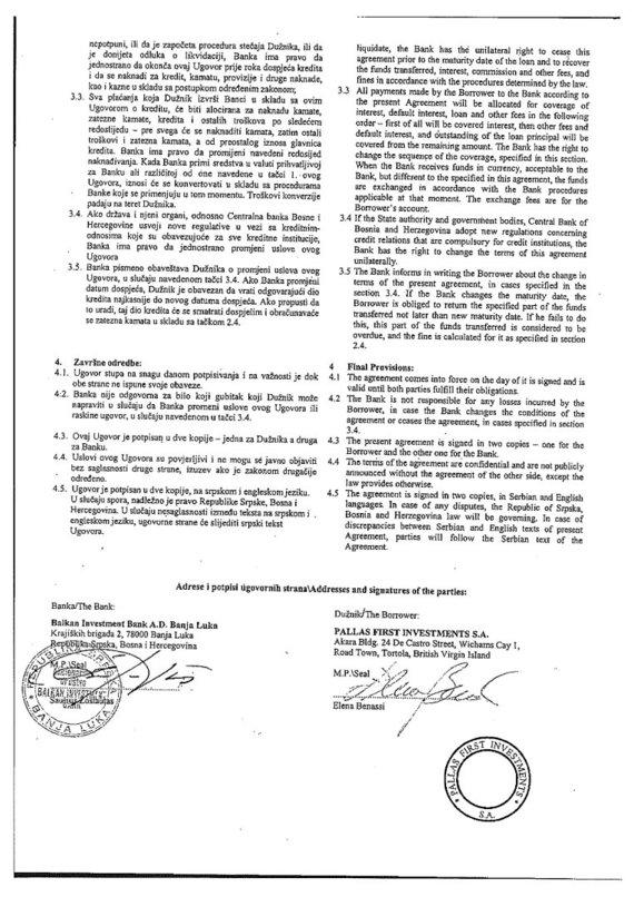 15min nuotr./2003 m. balandžio 8 d. paskolos sutartis, 2 lapas