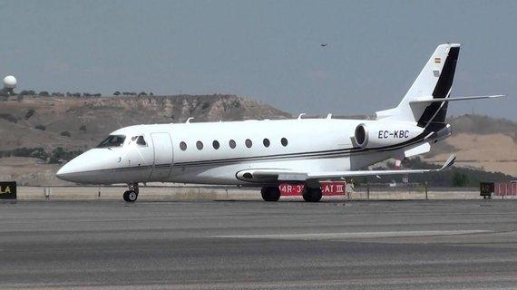 Stopkadras/Vilniuje viešėjęs Cristiano Ronaldo privatus lėktuvas