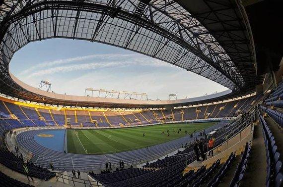 """Valerijaus Dedo nuotr./""""Metalist"""" stadionas"""