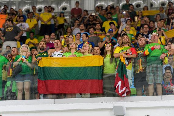 Vytauto Dranginio nuotr./Lietuva – Brazilija