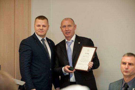 LDF nuotr./Kęstutis Smirnovas ir Vigmantas Sinkevičius
