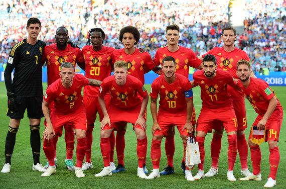 """""""Scanpix"""" nuotr./Belgijos futbolo rinktinė"""