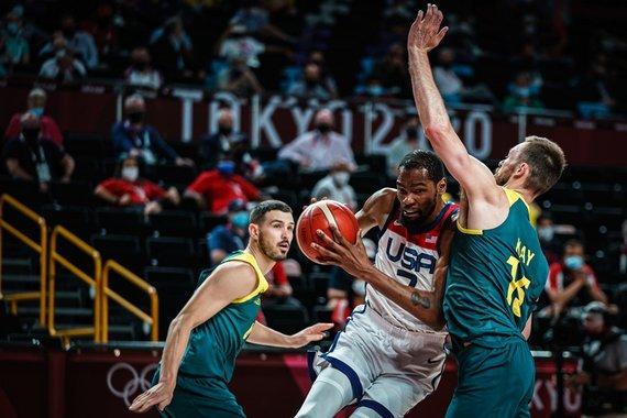 nuotr. FIBA/JAV – Australija