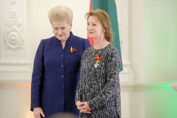 Vidmanto Balkūno / 15min nuotr./Prezidentūroje apdovanoti Lietuvai nusipelnę asmenys