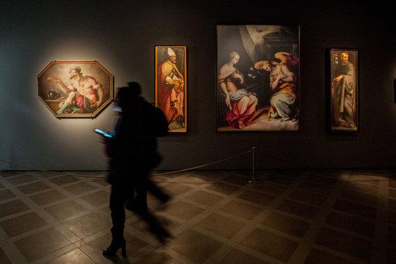 Vidmanto Balkūno / 15min nuotr./Lietuvos ir Italijos prezidentai atidaro tarptautinę Florencijos renesanso ir baroko parodą Valdovų rūmuose