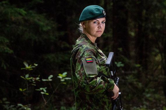 Vidmanto Balkūno / 15min nuotr./Greta Kancevičiūtė. Lietuvos kariuomenė.