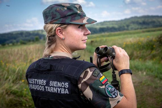 Vidmanto Balkūno / 15min nuotr./Deimantė Zybartienė. Valstybės sienos apsaugos tarnyba.