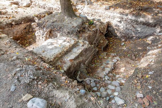 Vidmanto Balkūno / 15min nuotr./Didžiosios Vilniaus sinagogos archeologinių tyrimų vieta