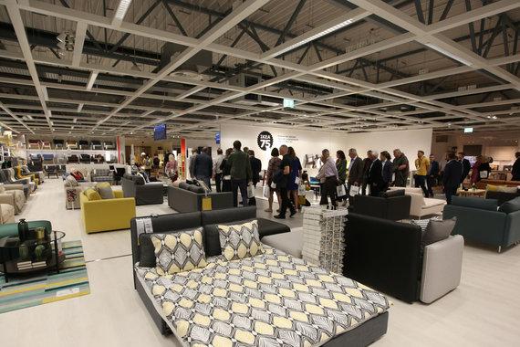 Vidmanto Balkūno / 15min nuotr./Rygoje atidaryta IKEA parduotuvė