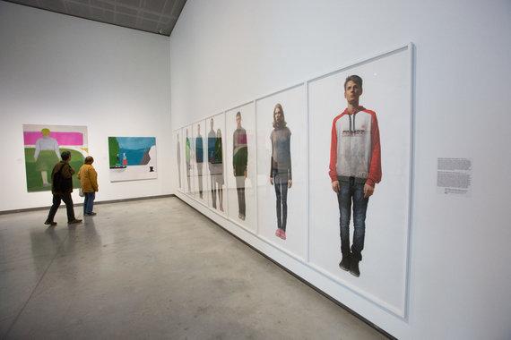 Vidmanto Balkūno / 15min nuotr./MO muziejaus ekspozicija. Dešinėje – Gataveckų darbas