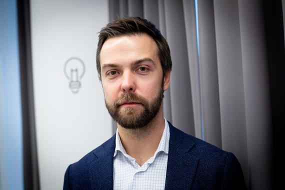 Vidmanto Balkūno / 15min nuotr./Andrius Bolšaitis, SEB Inovacijų centro vadovas