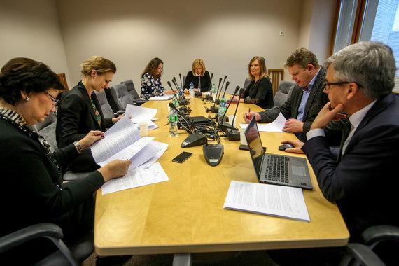 Vidmanto Balkūno / 15min nuotr./Seimo etikos ir procedūrų komisijos posėdis