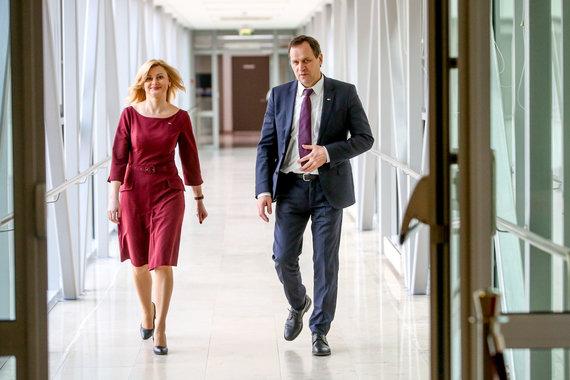 Vidmanto Balkūno / 15min nuotr./Rita Tamašunienė ir Valdemar Tomaševski