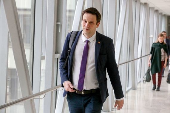 Vidmanto Balkūno / 15min nuotr./Seimo plenarinio posėdžio pradžia