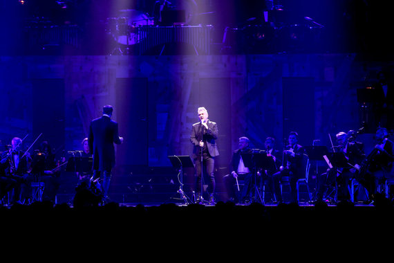 Vidmanto Balkūno / 15min nuotr./Andriaus Mamontovo koncerto akimirka