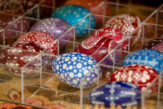 Vidmanto Balkūno / 15min nuotr./Skutinėti kiaušiniai