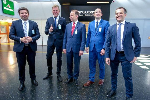Vidmanto Balkūno / 15min nuotr./Vilniuje pristatyti tiesioginiai skrydžiai į Londono Sičio oro uostą