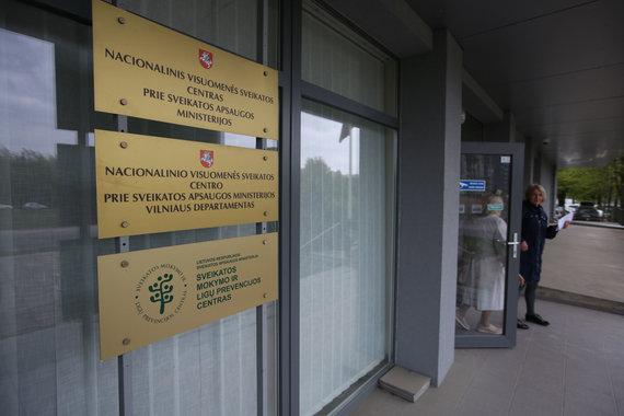 Vidmanto Balkūno / 15min nuotr./Nacionalinis visuomenės sveikatos centras