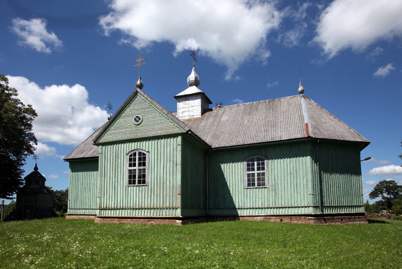 Vidmanto Balkūno / 15min nuotr./Kalnalio Šv. Lauryno bažnyčia
